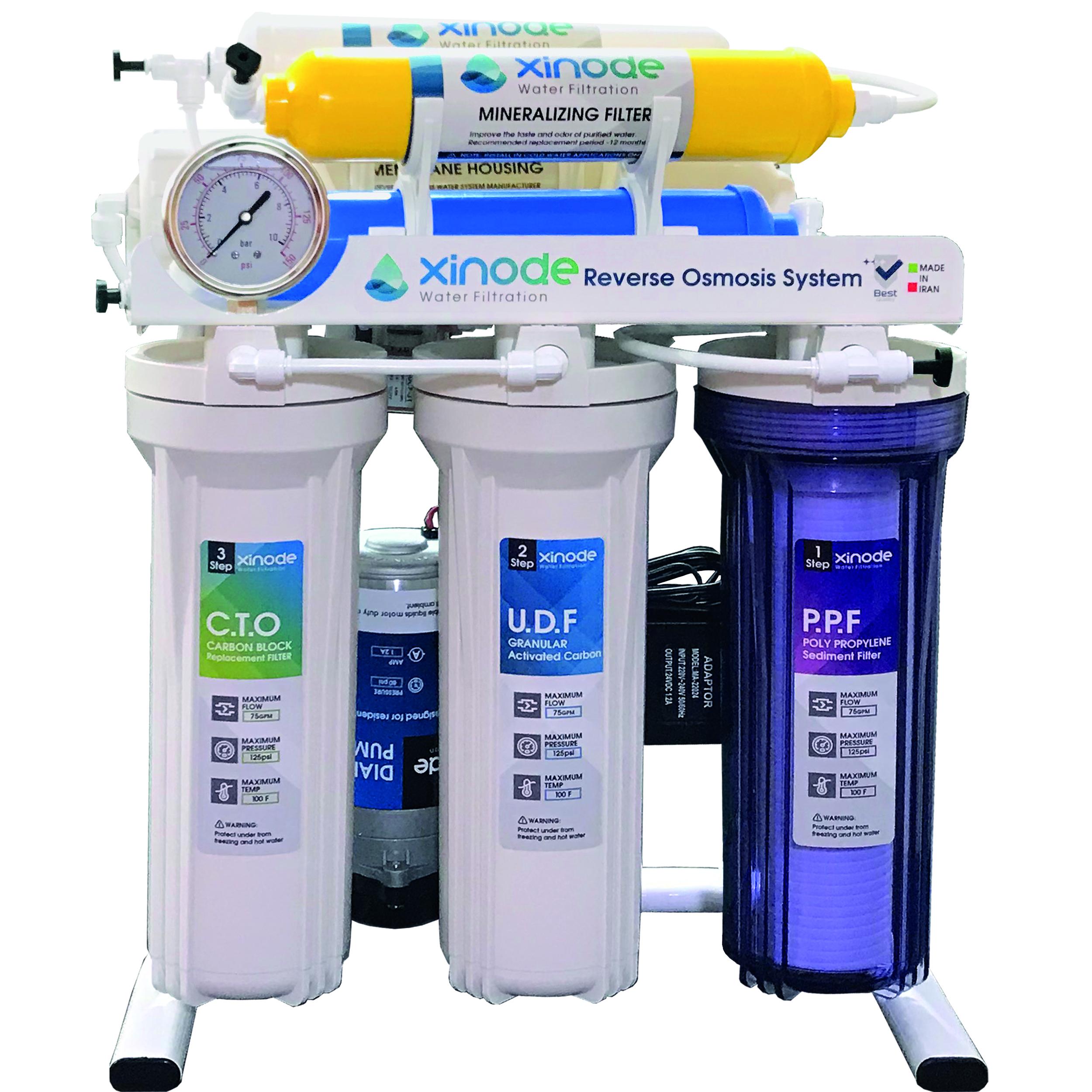 دستگاه تصفیه کننده آب زینود مدل AXS-205HB
