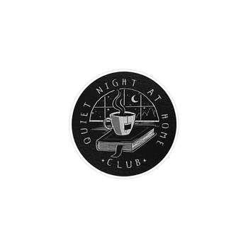 استیکر لپ تاپ ماسا دیزاین طرح کتاب و قهوه مدل STK184