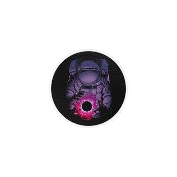 استیکر لپ تاپ ماسا دیزاین طرح فضانورد مدل STK187