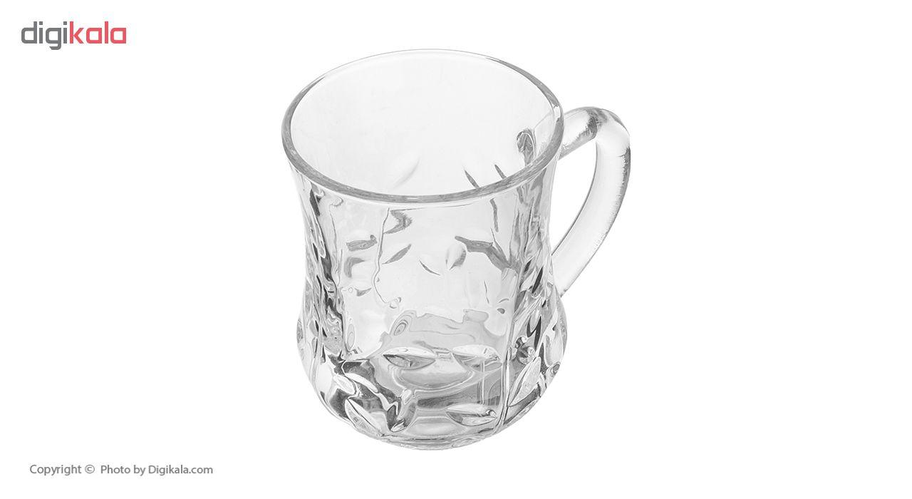 فنجان نوری تازه سری نارسیس مدل 370201W بسته 6 عددی