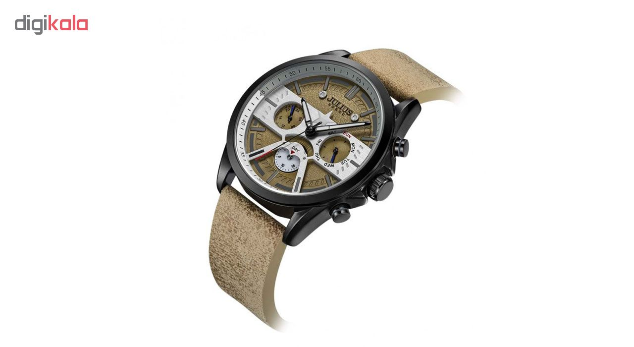 ساعت مچی عقربه ای مردانه جولیوس مدل JAH-106A
