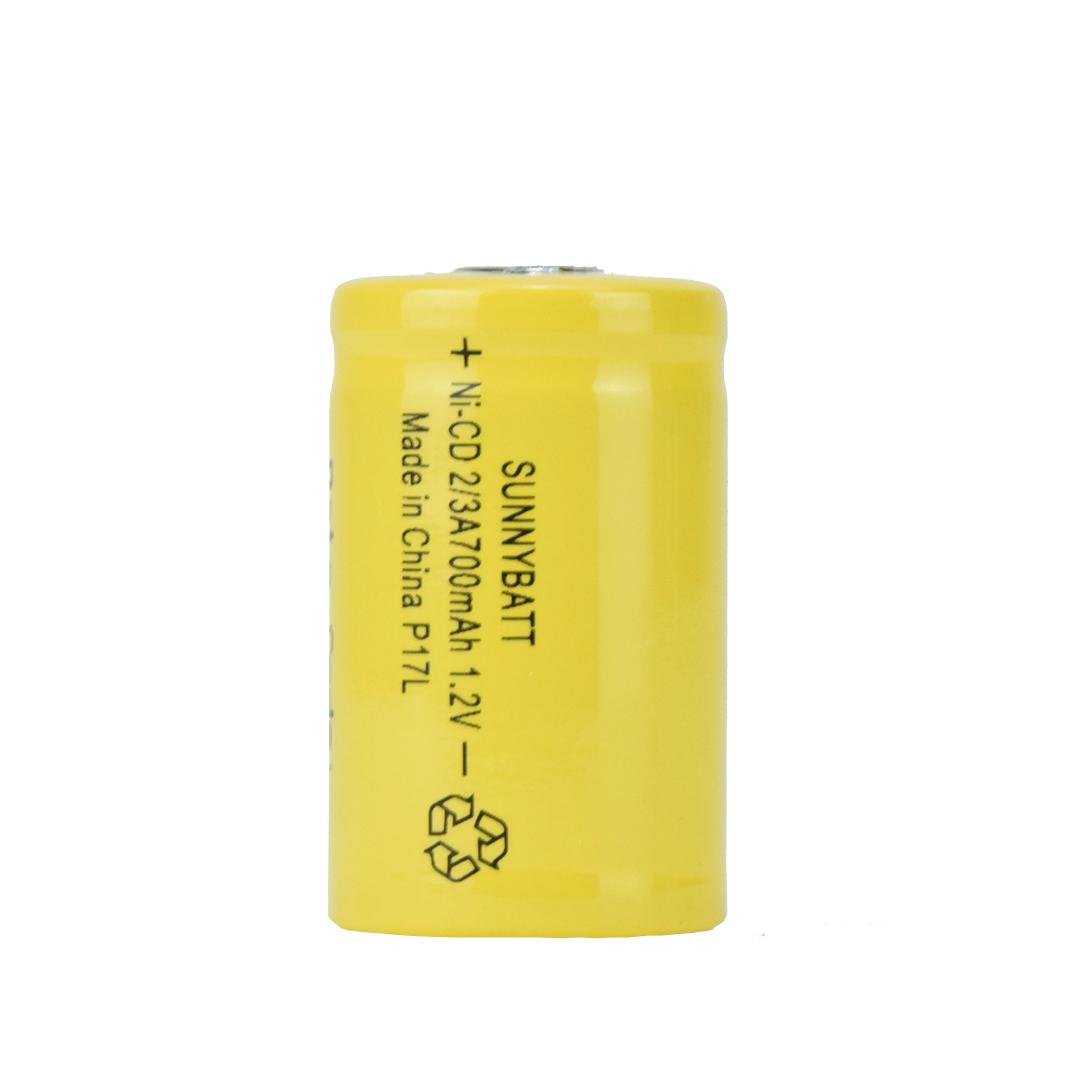 باتری نیکل  کادیوم قابل شارژ  سانی بت    مدلNi-22  ظرفیت 700 میلی آمپر ساعت