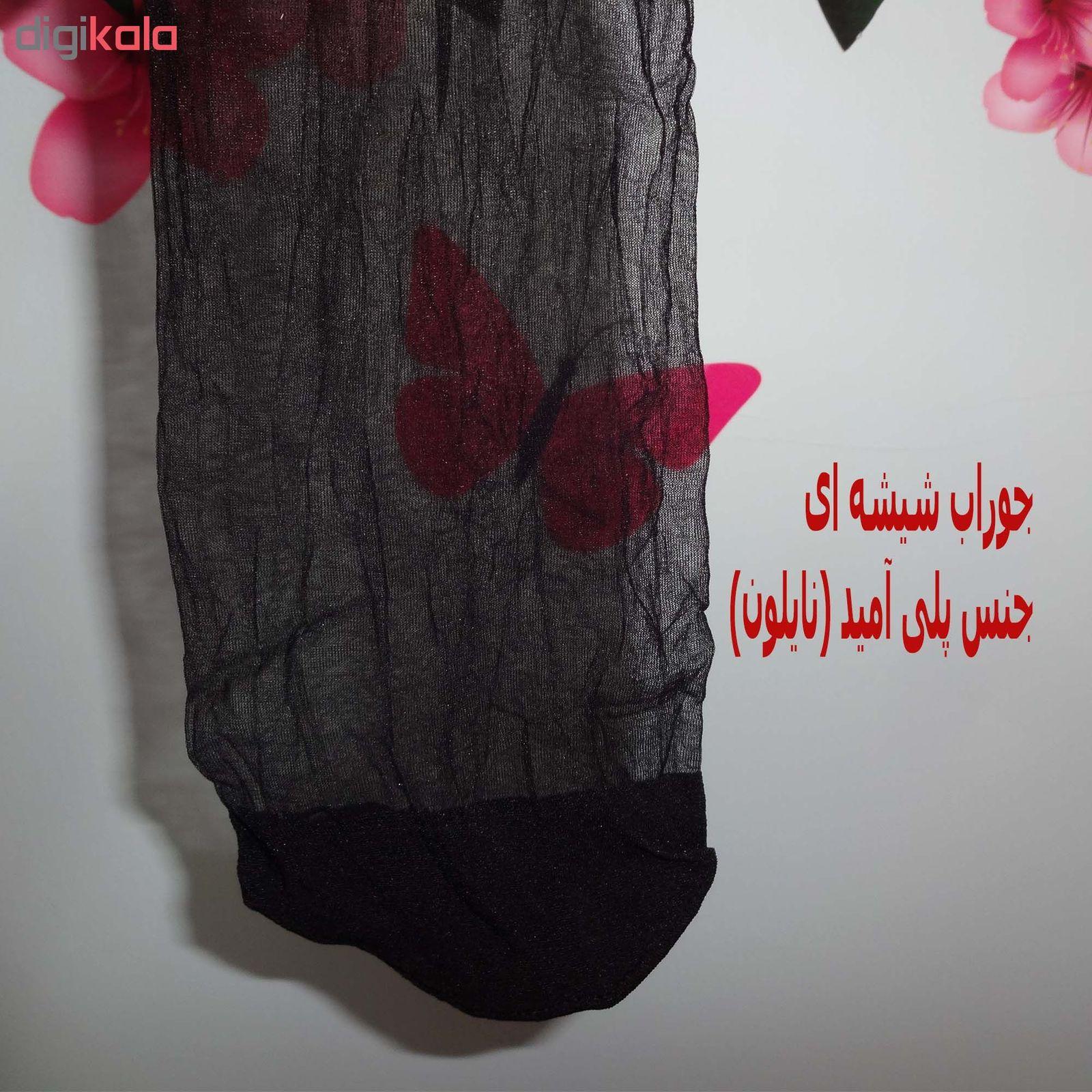 جوراب زنانه سماء مدل 1.10 کد BLSM10 main 1 2