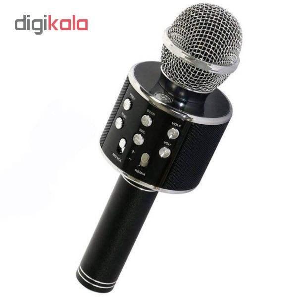میکروفون اسپیکر بلوتوثی مدل ws_858 main 1 1