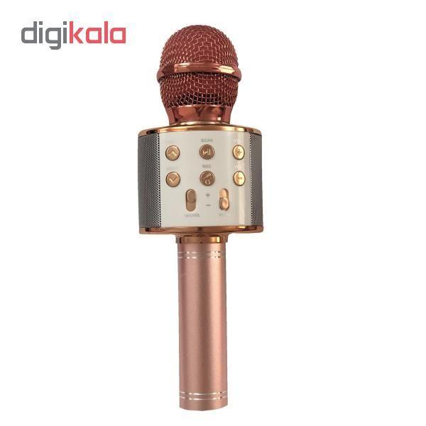 میکروفون اسپیکر بلوتوثی مدل ws_858 main 1 2