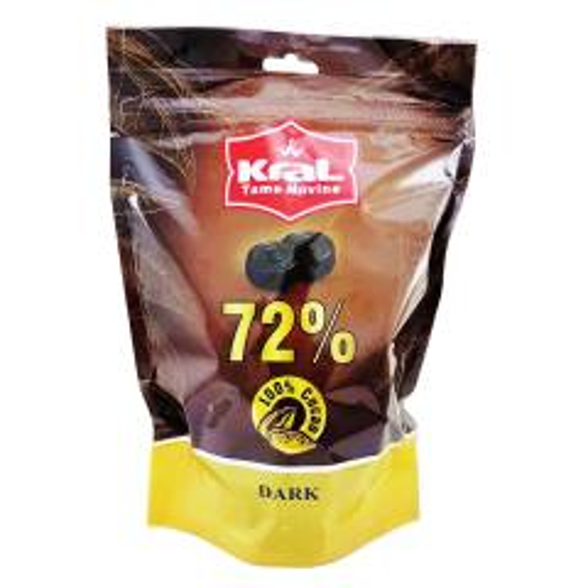 شکلات تلخ 72 درصد کرال مقدار 200 گرم