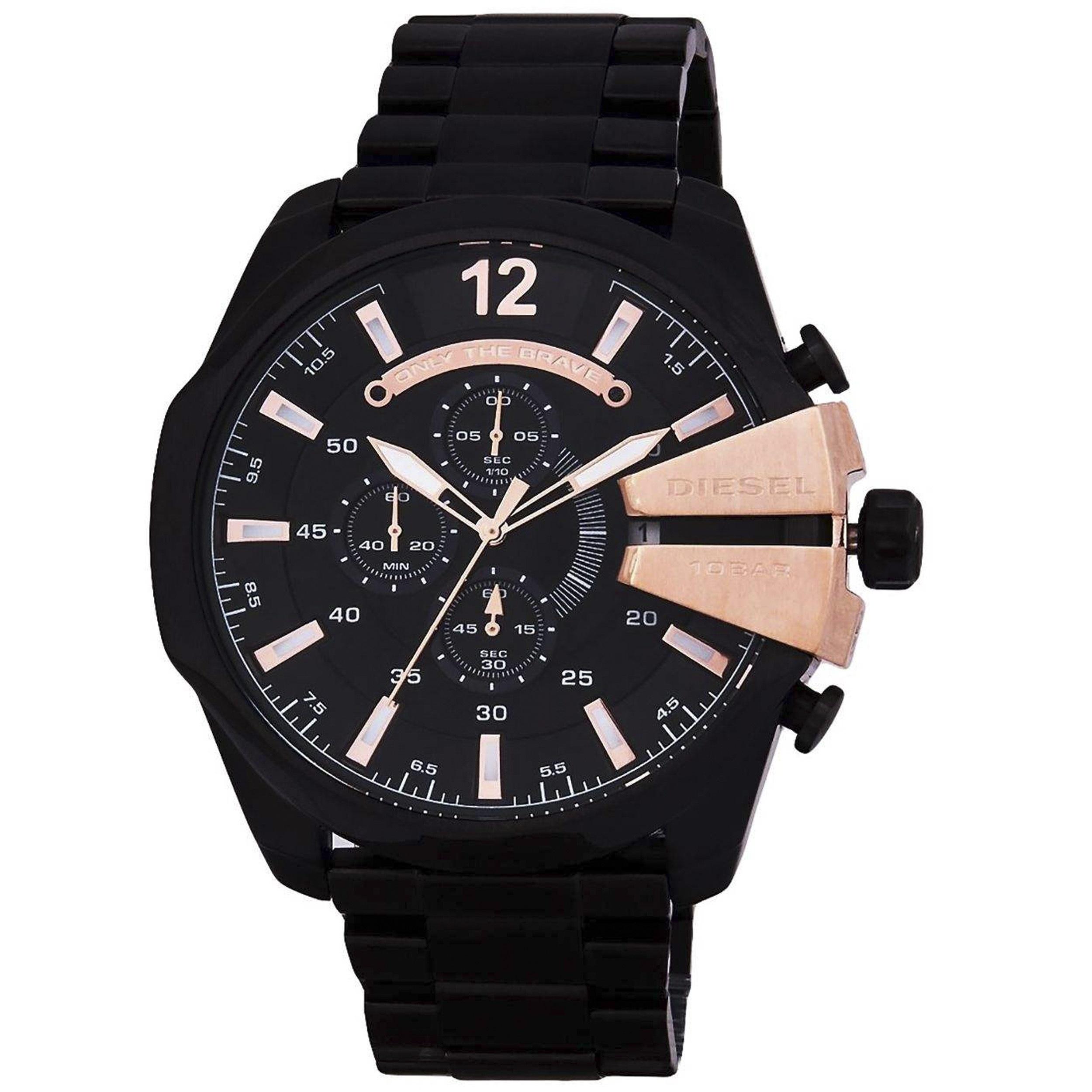 کد تخفیف                                       ساعت مچی عقربه ای مردانه کد DZ4338                      غیر اصل