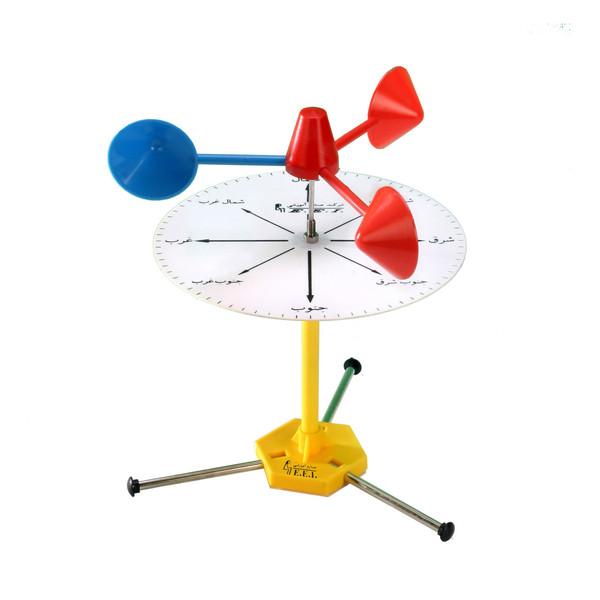 بازی آموزشی صنایع آموزشی طرح  بادنما و بادسنج کد 339