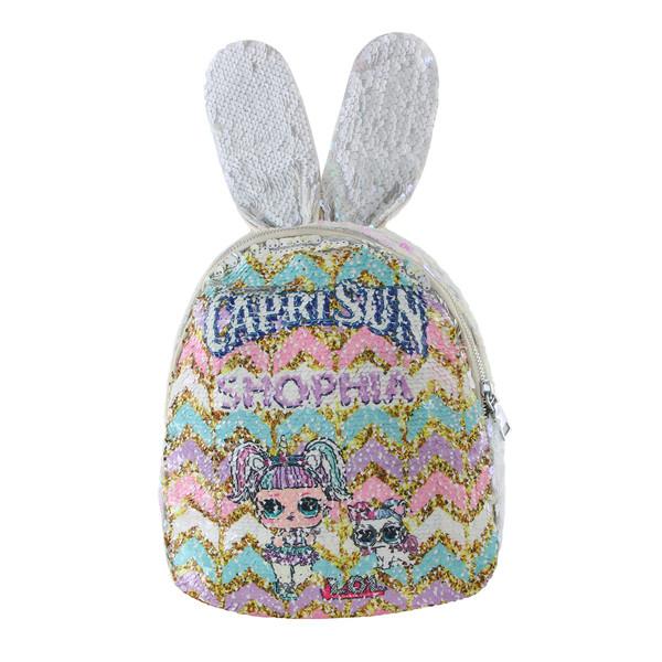 کوله پشتی دخترانه طرح خرگوش کد 6-1934