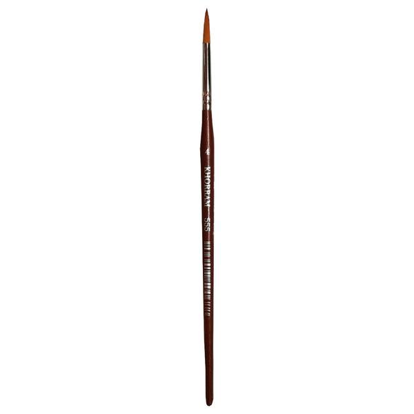 قلم مو گرد خرم شماره 4 کد 555