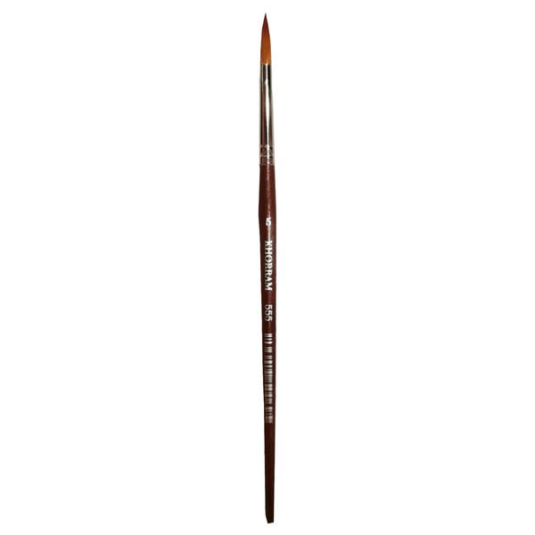 قلم مو گرد خرم شماره 5 کد 555