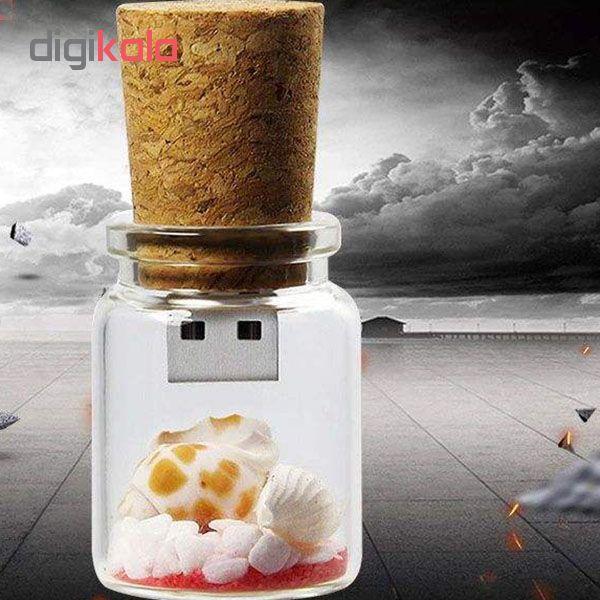 فلش مموری طرح بطری مدل Ul-Bo01 ظرفیت 64گیگابایت