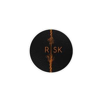استیکر لپ تاپ ماسا دیزاین طرح ریسک مدل STK197