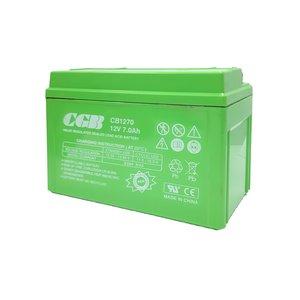 باتری یو پی اس 12 ولت 7.0 آمپر ساعت سی جی بی مدل CB1270