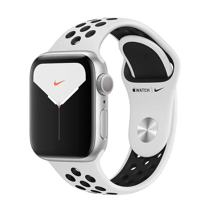 ساعت هوشمند اپل واچ سری ۵ مدل ۴۰mm Aluminum Case With Nike Sport Band