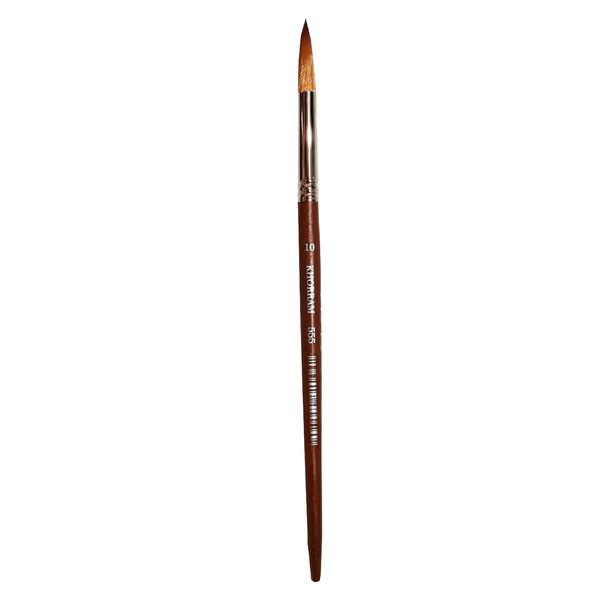 قلم مو گرد خرم شماره 10 کد 555