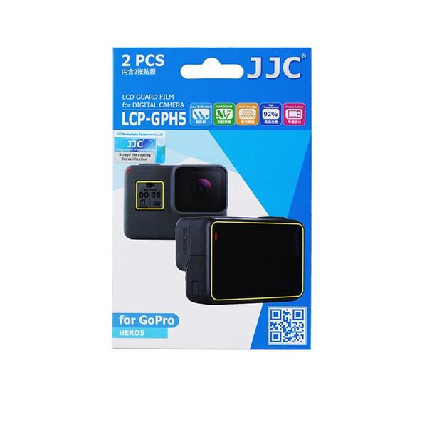 محافظ صفحه نمایش دوربین جی جی سی مدل LCP-GPH5 مناسب برای دوربین گوپرو HERO/ HERO5 / HERO6 / HERO7 مجموعه 4 عددی