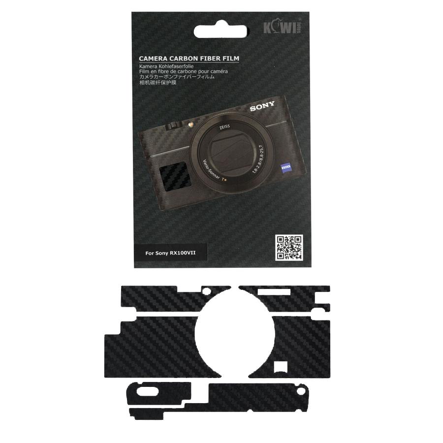 برچسب پوششی کی وی مدل KS-RX100VIICF مناسب برای دوربین عکاسی سونی RX100VII