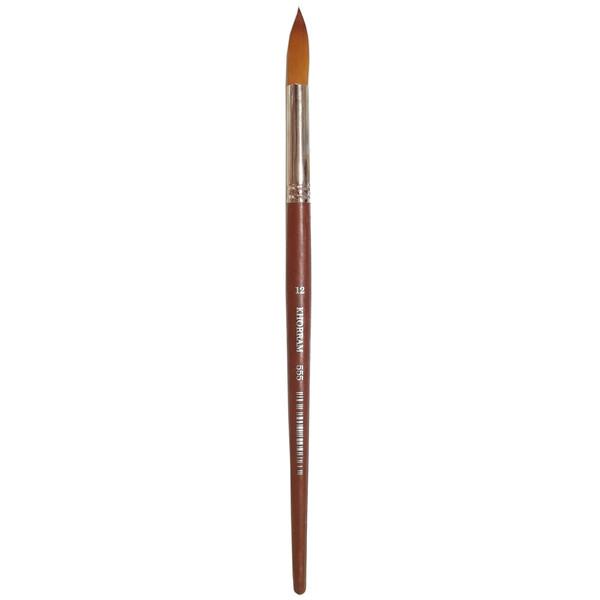 قلم مو گرد خرم شماره 12 کد 555