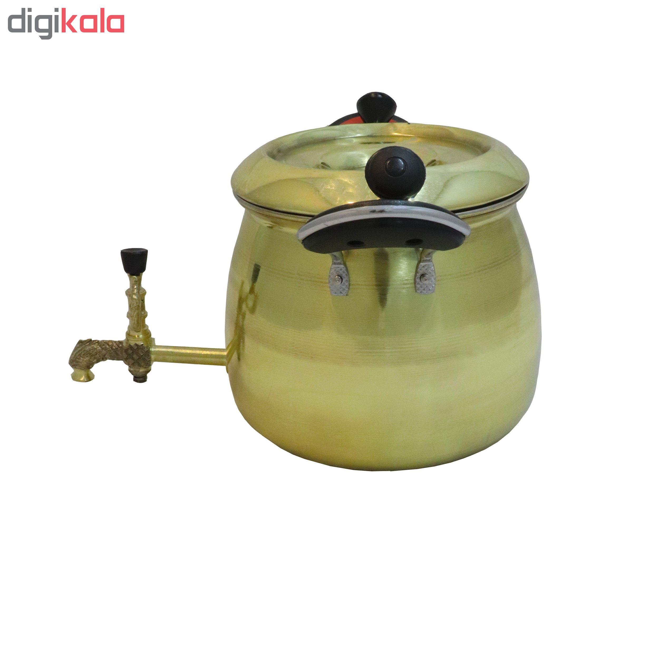خرید                      کتری برنجی مدل نگار کد 3