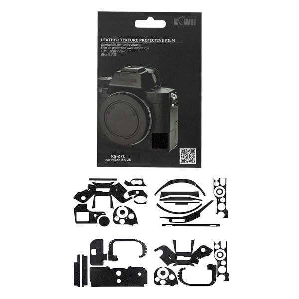 برچسب پوششی کی وی مدل KS-Z7L مناسب برای دوربین عکاسی نیکون  Z7 / Z6