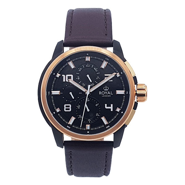 کد تخفیف                                      ساعت مچی عقربه ای مردانه رویال لندن مدل RL-41384-02