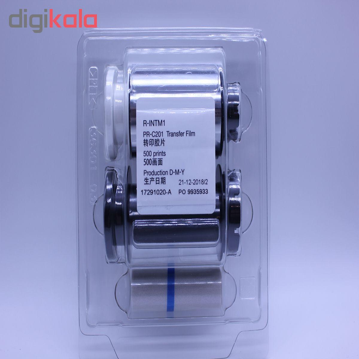 قیمت                      فیلم پرینتر کارت مدل نیسا RC-201