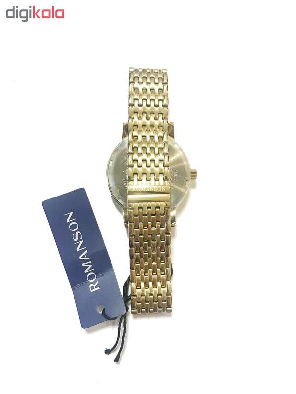 ساعت مچی عقربه ای زنانه رومانسون مدل TM1274BL1GA81B