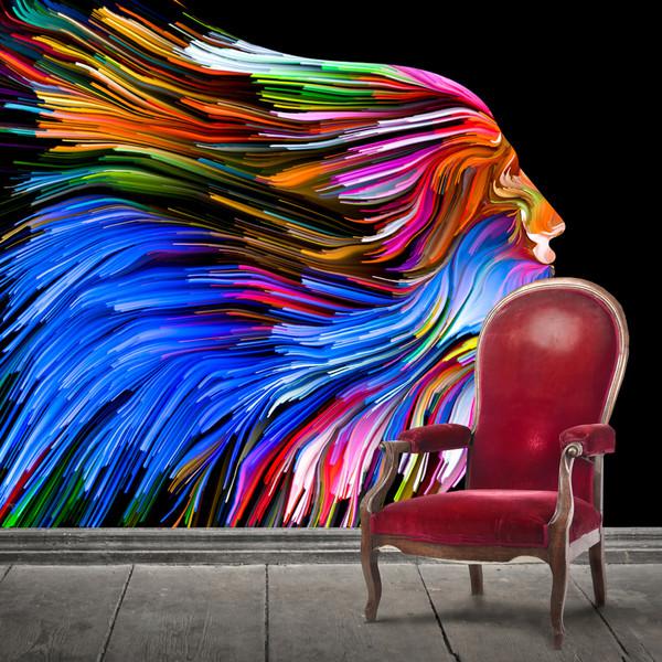 پوستر دیواری سه بعدی طرح بلک لایت کد ARTS791