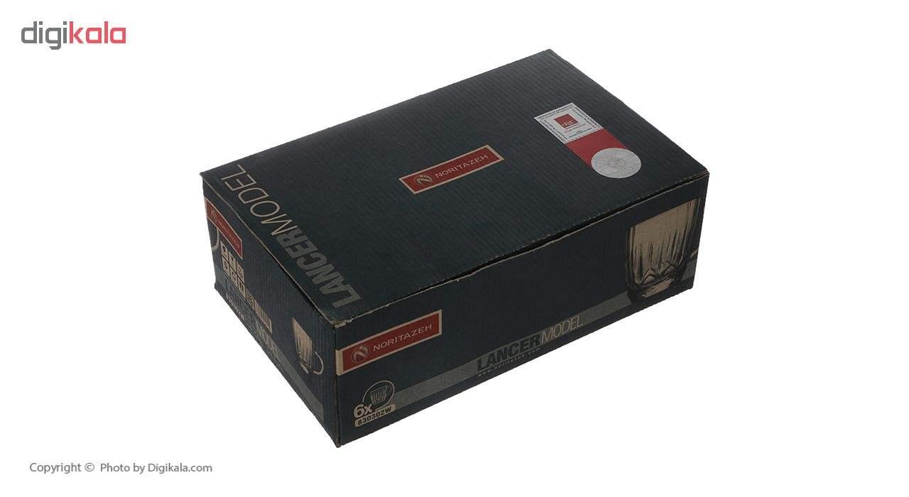 فنجان نوری تازه سری لنسر مدل 830302W بسته 6 عددی main 1 4
