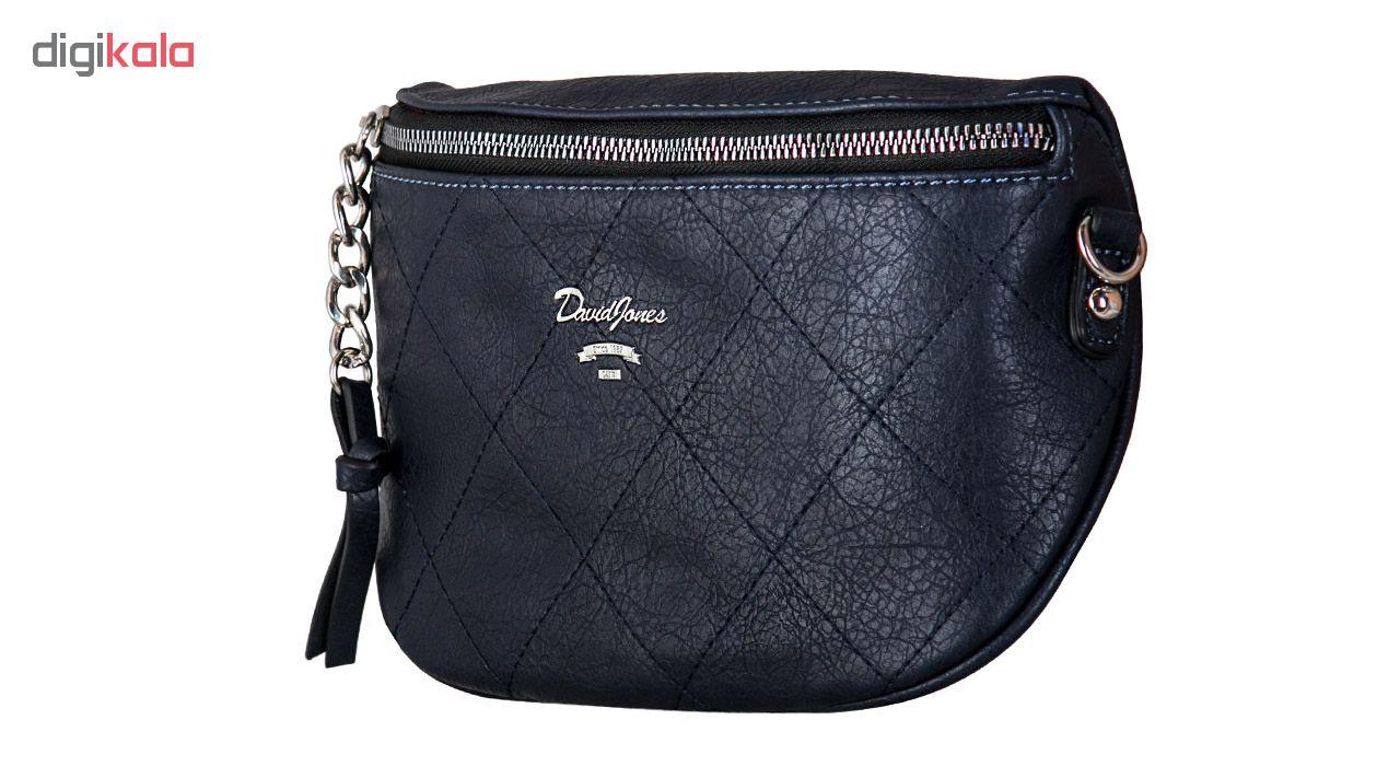 کیف دوشی زنانه دیوید جونز کد CM5337