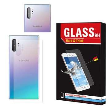 محافظ پشت گوشی  Hard and Thick مدل B-002 مناسب برای گوشی موبایل سامسونگ Galaxy Note 10 به همراه محافظ لنز دوربین