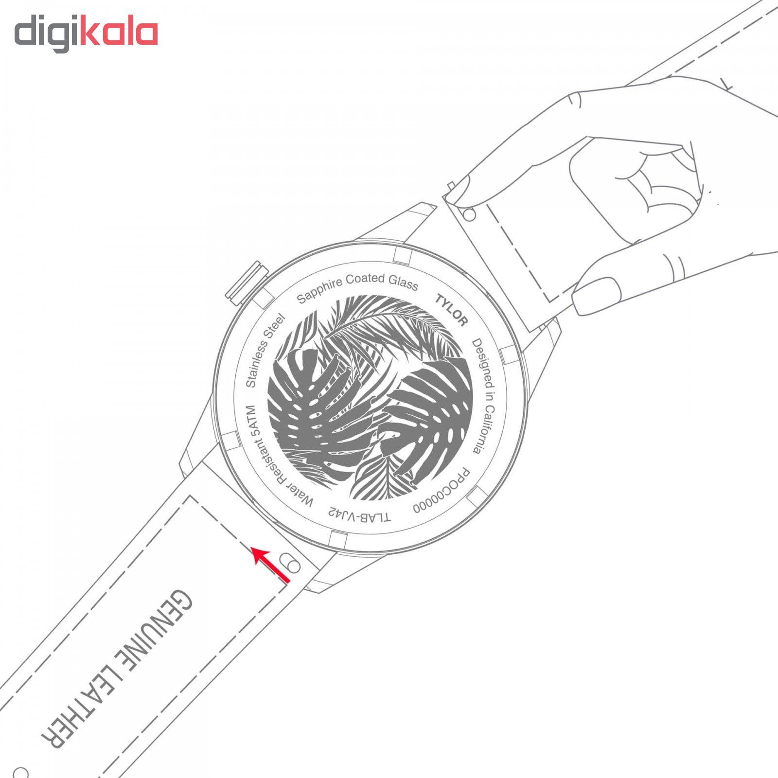 ساعت مچی عقربه ای تیلور مدل TLAC005