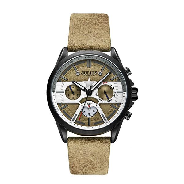 کد تخفیف                                      ساعت مچی عقربه ای مردانه جولیوس مدل JAH-106A