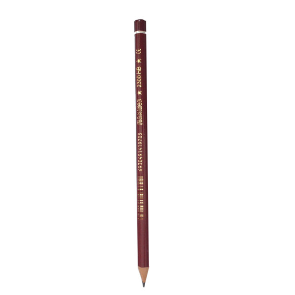 مداد مشکی فلامینگو مدل 2300 HB بسته 12 عددی
