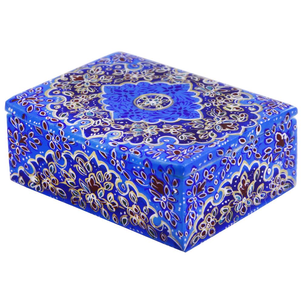 جعبه جواهرات استخوانی مدل تذهیب  کد 1232