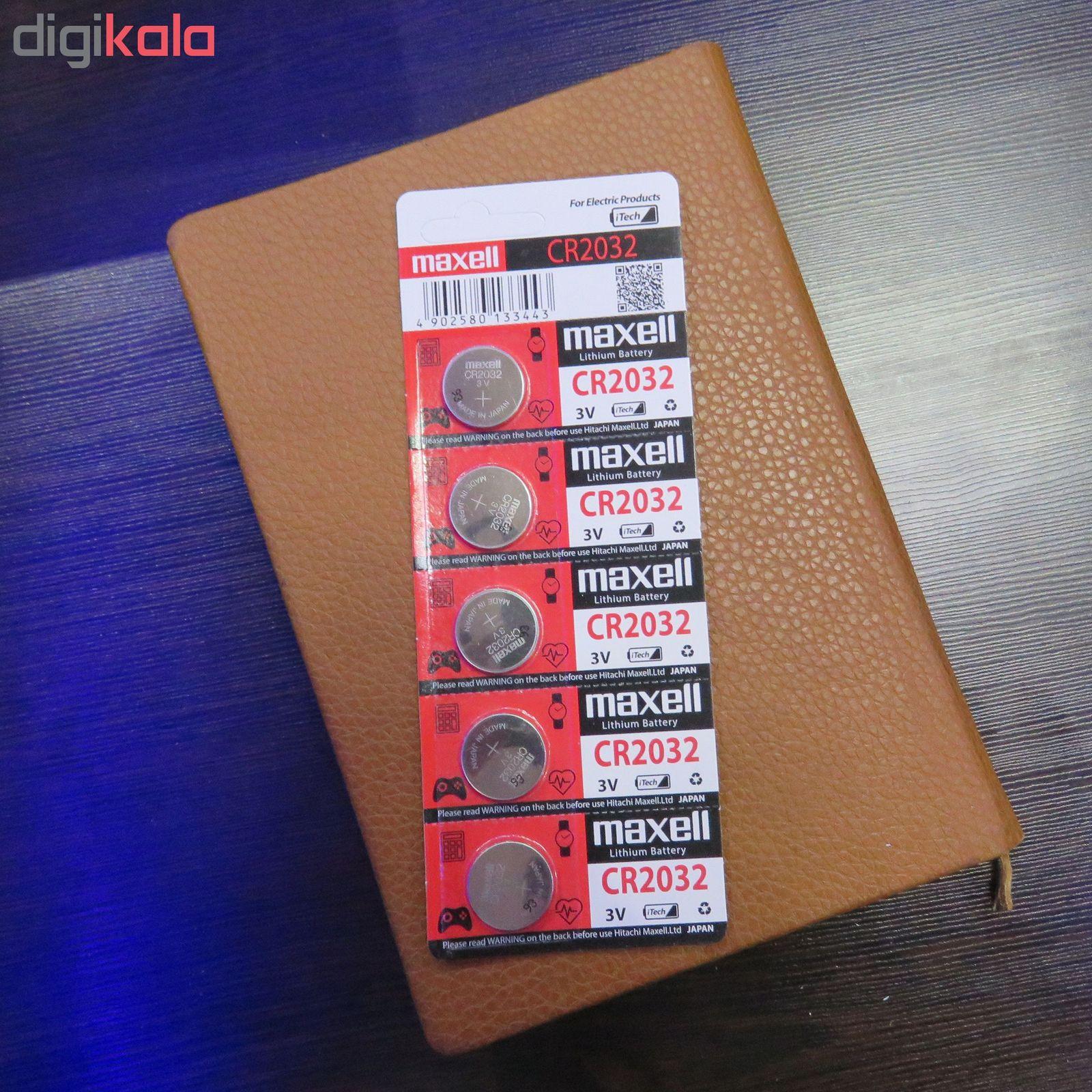 باتری سکه ای مکسل مدل CR2032 main 1 4