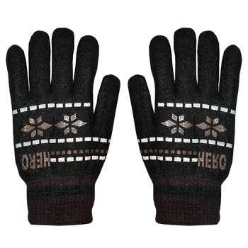 دستکش بافتنی مردانه مدل ۰۴