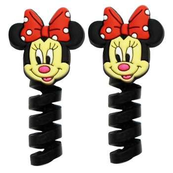محافظ کابل طرح Minnie Mouse کد 1113 بسته 2 عددی