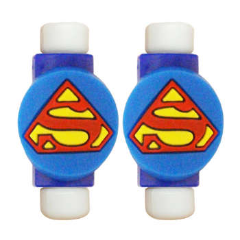 محافظ کابل طرح Super Man کد 3305 بسته 2 عددی