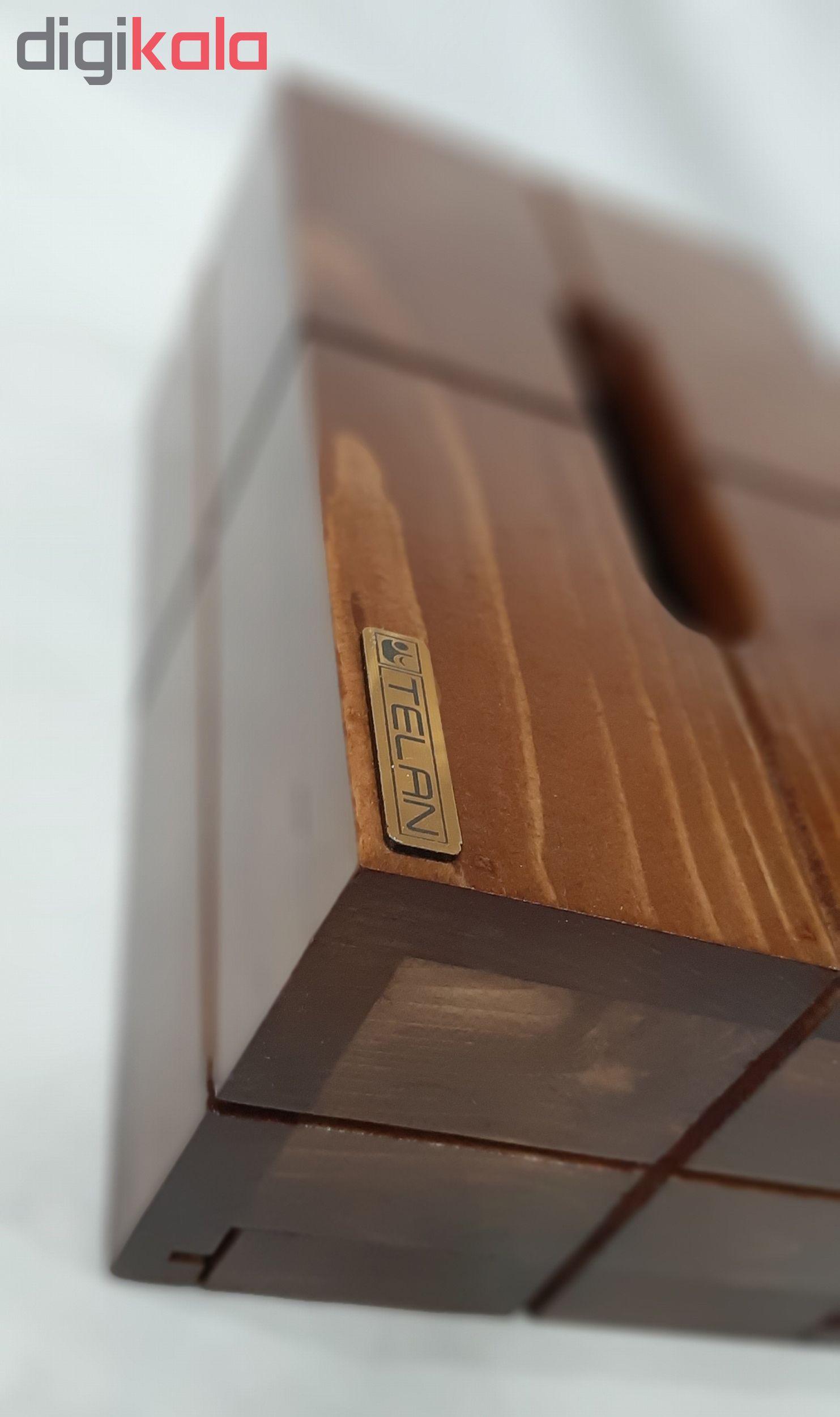 جعبه دستمال کاغذی تلن مدل 77088