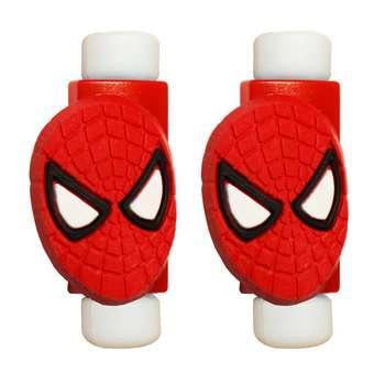 محافظ کابل طرح Spider Man کد 3301 بسته 2 عددی