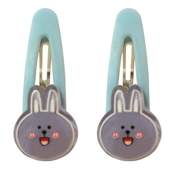 گیره مو دخترانه طرح خرگوش کد SH-397 بسته 2 عددی