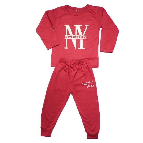 ست تی شرت و شلوار پسرانه کد M715