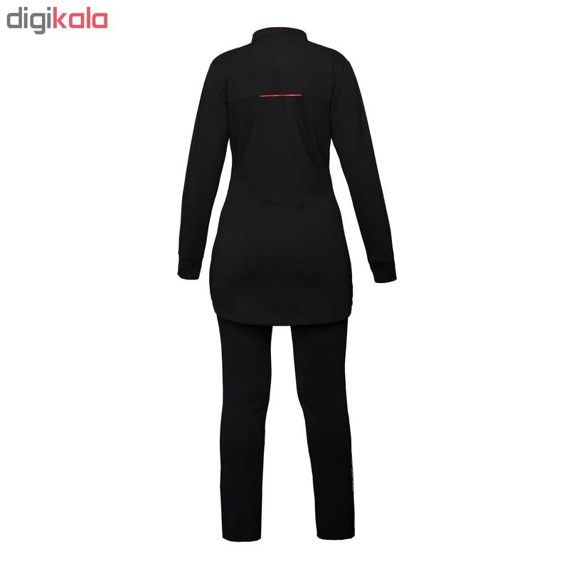 ست گرمکن و شلوار ورزشی زنانه تکنیک اسپرت کد GK-122-ME