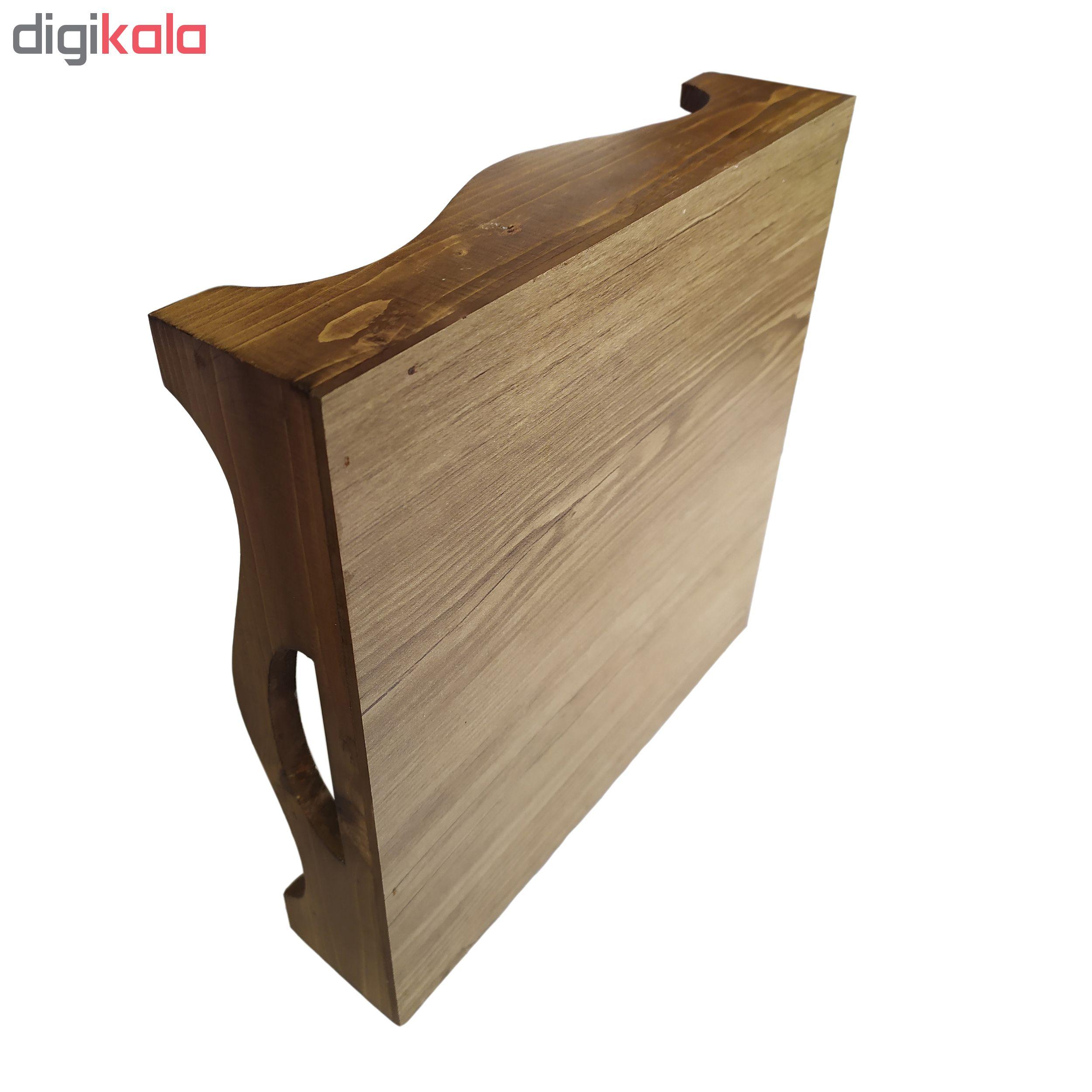 سینی کاشی کاری چوبی کد 2020331