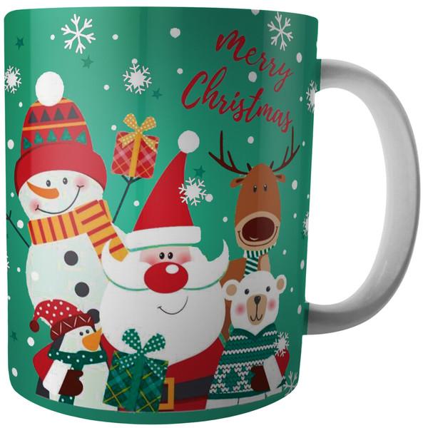 ماگ آکو طرح کریسمس کد B15