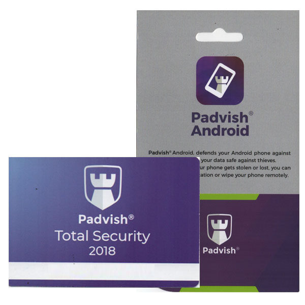 نرم افزار آنتی ویروس پادویش نسخه امنیت کامل یک کاربره 1 ساله به همراه نرم افزار آنتی ویروس پادویش نسخه اندروید یک کاربره 1 ساله