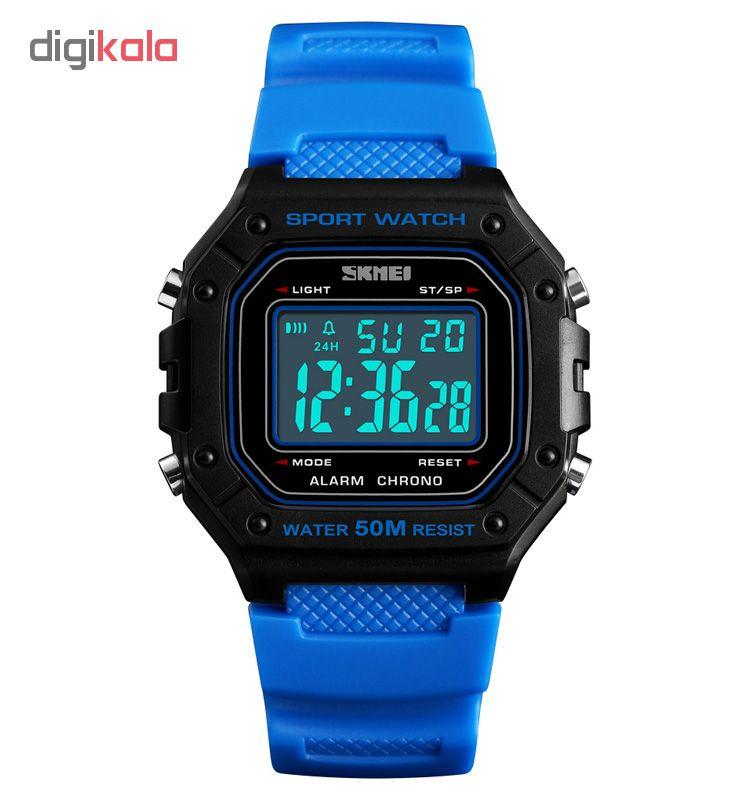ساعت مچی دیجیتال اسکمی مدل 1496A