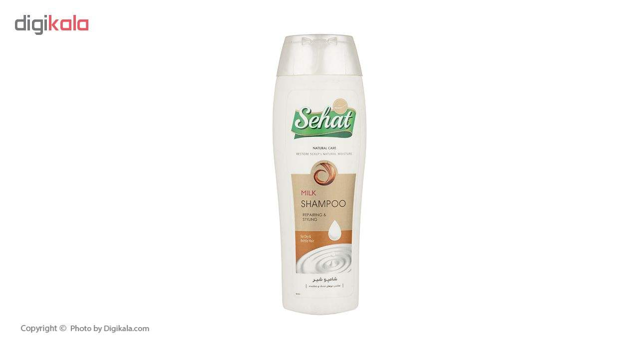 شامپو پروتئینه صحت مدل Milk Shampoo حجم 300 میلی لیتر main 1 1